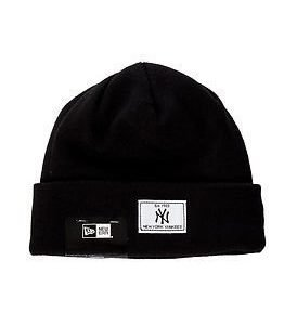 New Era Basic Cuff Knit New York Yankees Black