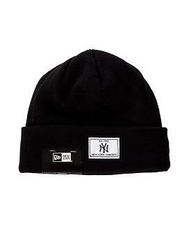 New Era Basic Cuff Knit New York Yankees Black