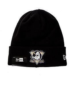New Era Basic Cuff Knit Nhl Anaheim Ducks Black