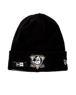 New Era Basic Cuff Knit Nhl Anaheim Ducks Black