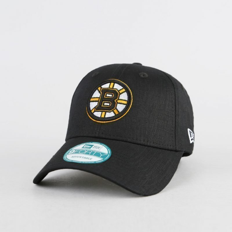 New Era Boston Bruins Black Base -lippis