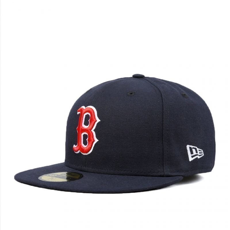New Era Boston Red Sox Team Structured Fitted -lippis