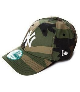 New Era Camo Basic New York Yankees White