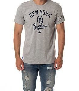 New Era College Tee New York Yankees Light Grey