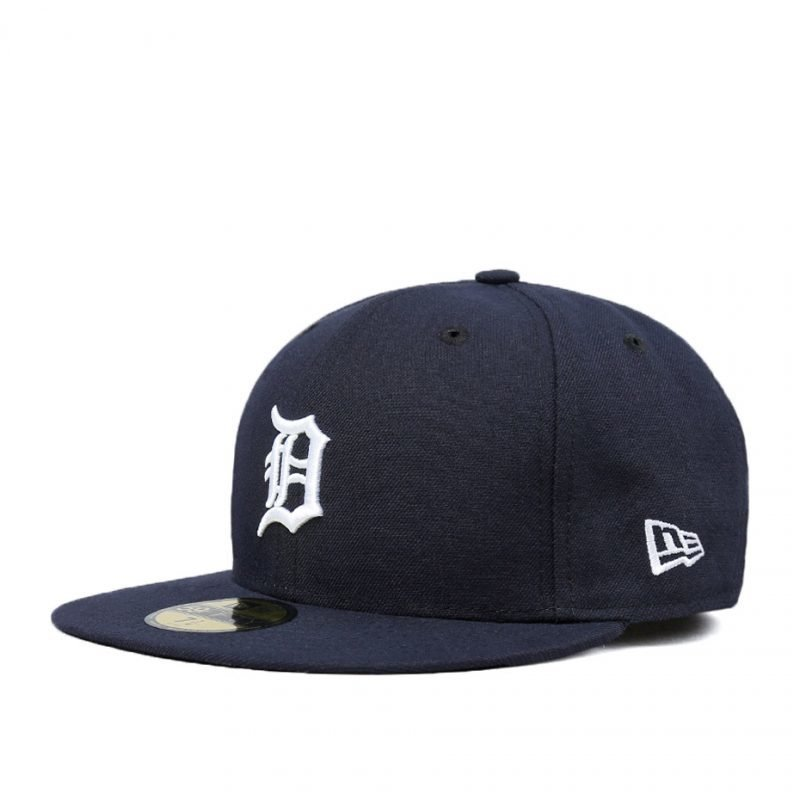 New Era Detroit Tigers Team Structured Fitted -lippis