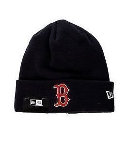 New Era Essential Cuff Knit Boston Red Wing Navy