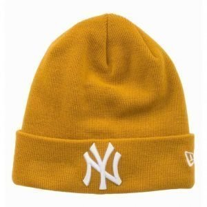 New Era Essential Cuff Knit NEYYAN Pipo Mustard
