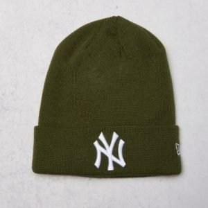 New Era Essential Cuff Team Yankees Riffle Green