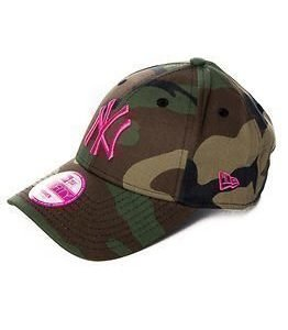 New Era Fashion Camo New York Yankees Pink
