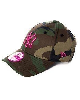 New Era Fashion Camo New York Yankees Pink