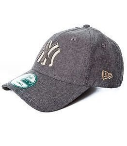 New Era Felt Chambray New York Yankees Grey