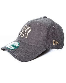 New Era Felt Chambray New York Yankees Grey