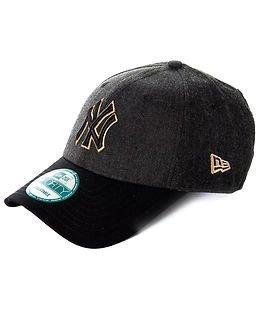 New Era HTHR Dazzle Outline New York Yankees Grey/Gold