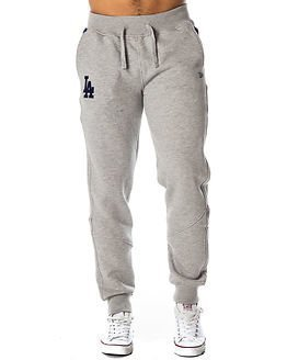 New Era MLB Track Pant Los Angeles Dodgers Light Grey
