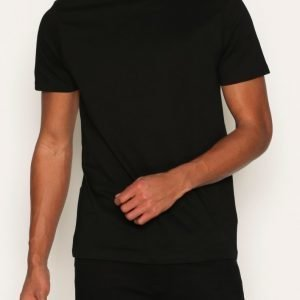 New Look Basic Crew T-paita Black