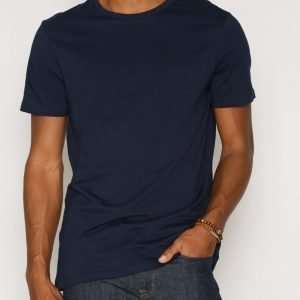 New Look Basic Crew T-paita Navy