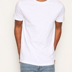 New Look Basic Crew T-paita White
