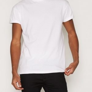 New Look Basic High Roll T-paita White