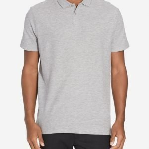 New Look Basic Pique Polo Pikeepaita Grey