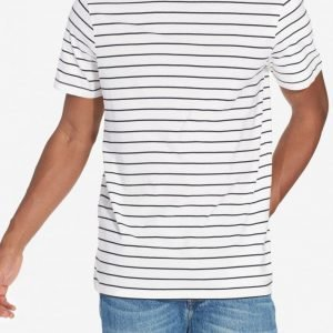 New Look Basic Stripe T-paita White