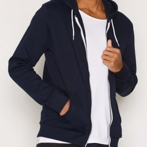 New Look Basic Zip Pusero Navy