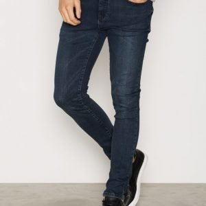 New Look Blue Black Skinny Jeans Farkut Navy