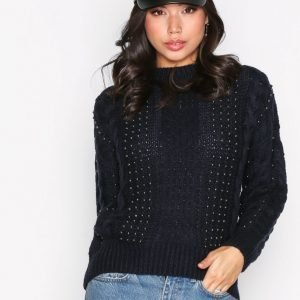 New Look Cable Jumper Neulepusero Navy