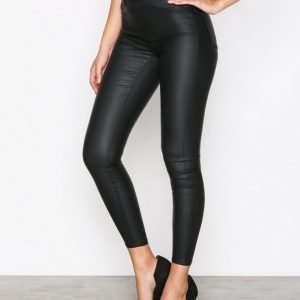 New Look Coated Jegging Housut Black