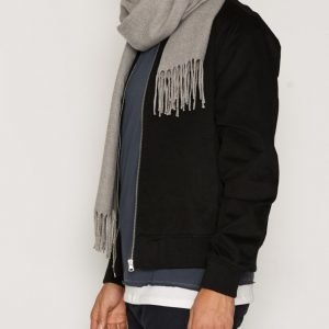 New Look Cotton Twill Bomber Takki Black