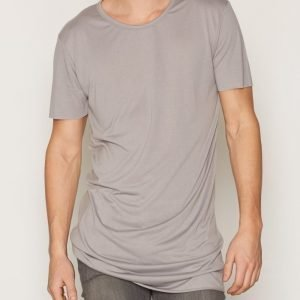 New Look Extreme Longline Tee T-paita Grey