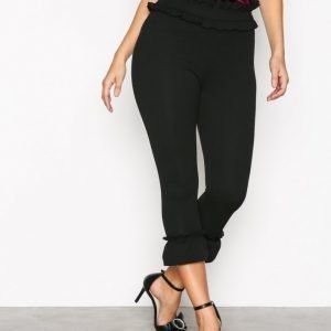 New Look Frill Trim Leggings Housut Black