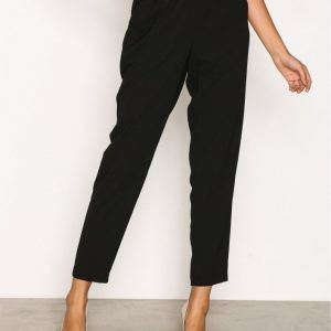New Look Frill Waist Trouser Housut Black