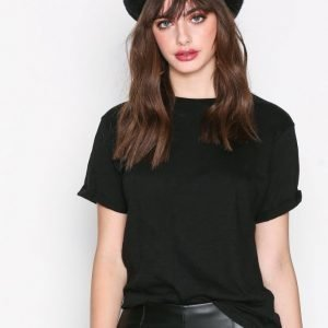 New Look Girlfriend Easy Tee T-Paita Black