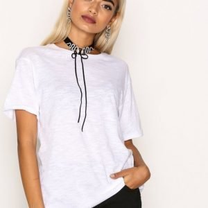 New Look Girlfriend Easy Tee T-Paita White