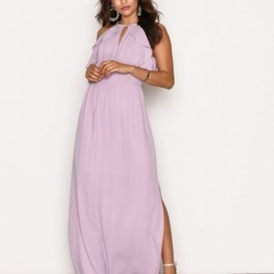 New Look Keyhole Frill Trim Maxi Dress Maksimekko Lilac