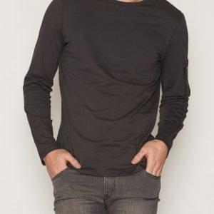New Look Ls Ma1 Tee Pusero Grey