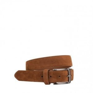 New Look Microsuede Belt Vyö Brown