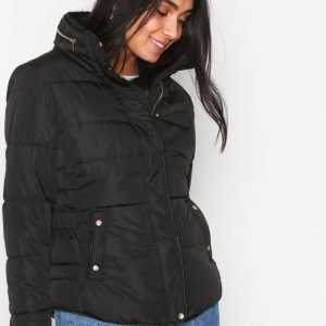 New Look Padded Puffer Jacket Untuvatakki Black