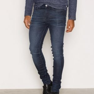 New Look Reflex Super Skinny Jeans Farkut Navy