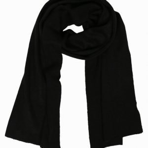 New Look Singel Jersey Knit Scarf Kaulahuivi Black