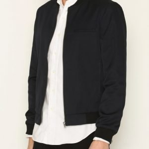 New Look Smart Bomber Jacket Takki Navy