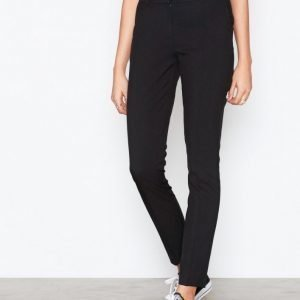 New Look Stretch Slim Leg Trousers Housut Black