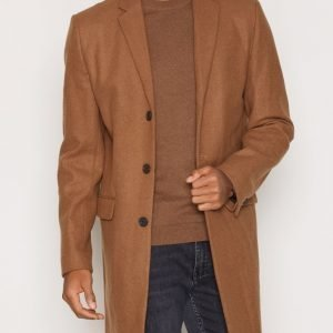 New Look Wool Overcoat Takki Camel