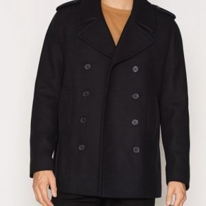 New Look Wool Peacoat Takki Navy