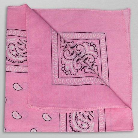 New York Style Bandana Huivi Vaaleanpunainen