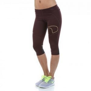 Newline Iconic Power Knee Tights Capritrikoot Punainen
