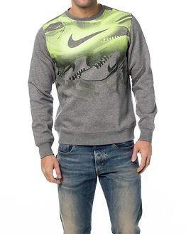 Nike Club FLC Crew Sneaker Carbon