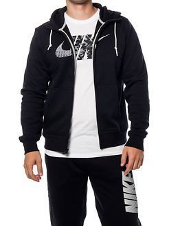 Nike Club FLC Hoody Black