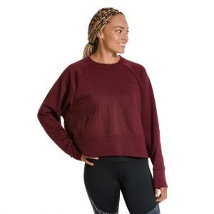 Nike Cropped Training Top Collegepaita Punainen