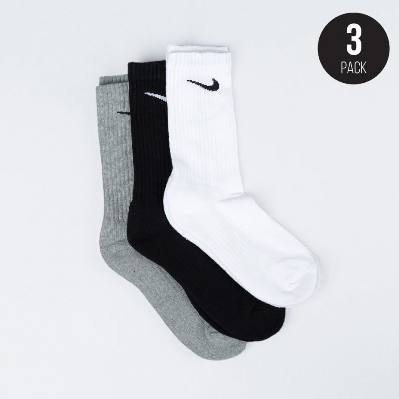 Nike Cushion Crew 3-pack -sukat